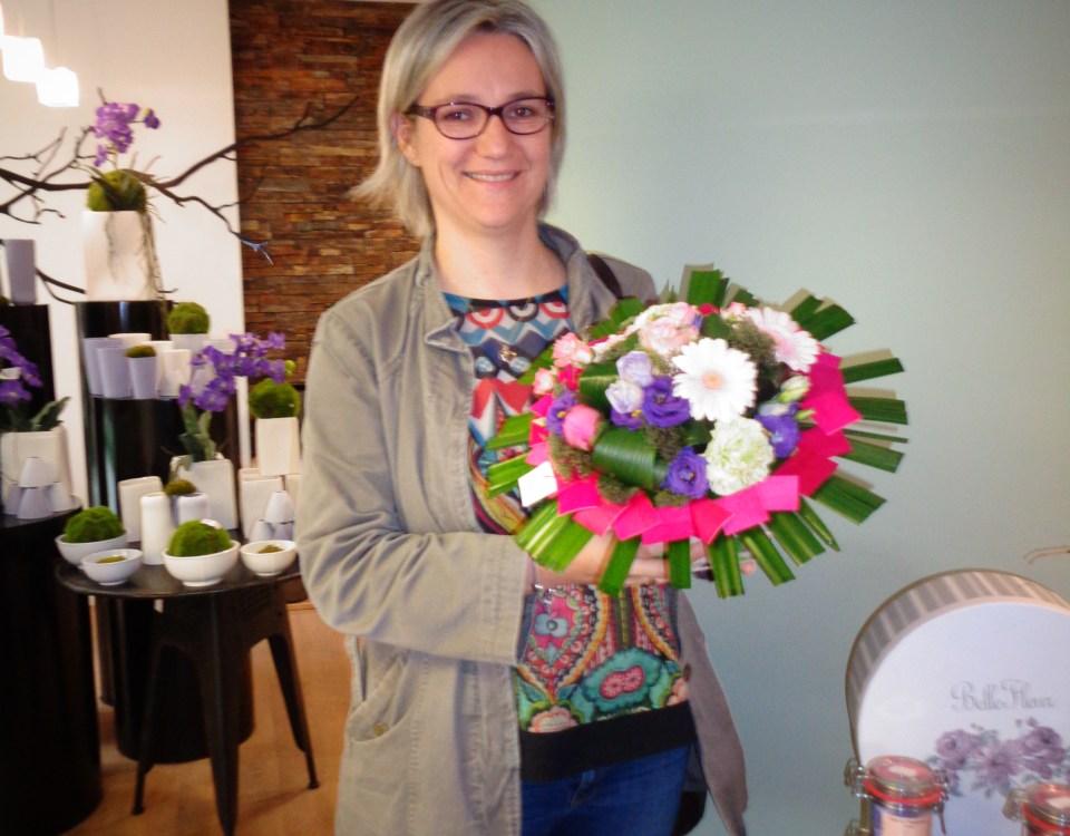 Nathalie, gagnant du jeu Youpi Fleurs, tirage du mercredi 17 mai 2017