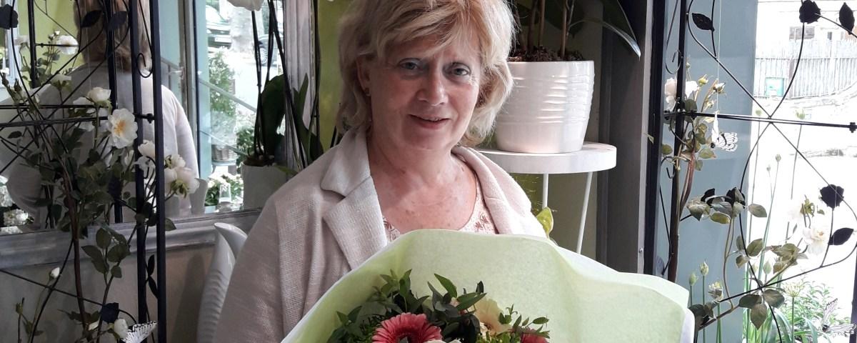 Jeannine, gagnant du jeu Youpi Fleurs, tirage du mercredi 17 mai 2017