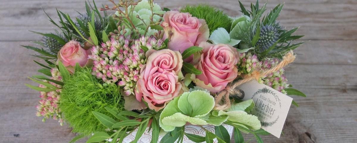 Envoyer des fleurs à Aillant sur Tholon avec votre fleuriste l'Herbier