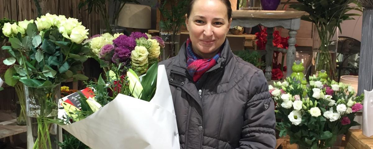 Sophie, gagnante du jeu youpi fleurs