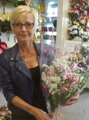 Valérie, gagnante du jeu Youpi Fleurs