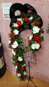 Parure florale avec Vynils