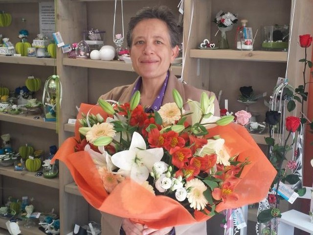 Noëlle, gagnante du jeu Youpi Fleurs