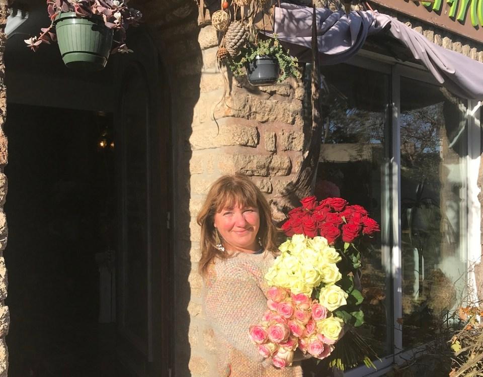 """Votre artisan fleuriste à Saint Gildas de Rhuys (56730), Frédérique pour """"Chlorophylle"""""""