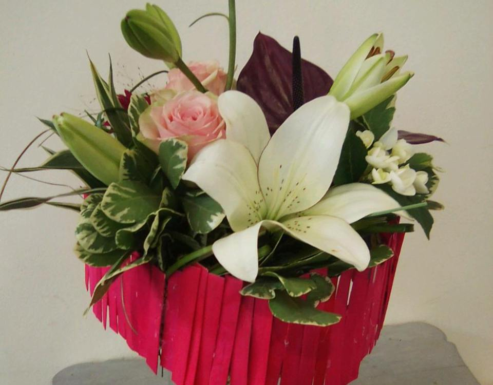 Bouquet de coccinelle fleuriste à Neufchâteau