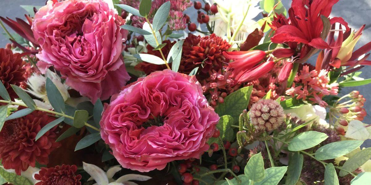B.Cornut Fleuriste - couleurs flamboyantes