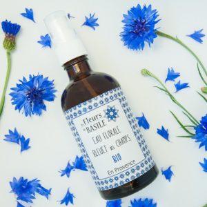 Eau Florale Bleuet des champs - cosmétique bio