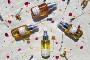Huiles des soins naturelles Fleurs de Basile