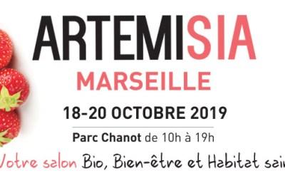 Nous étions au Salon Artemisia à Marseille !