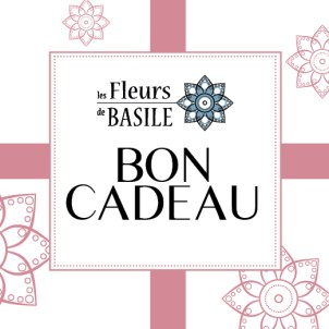 Carte cadeau Fleurs de Basile