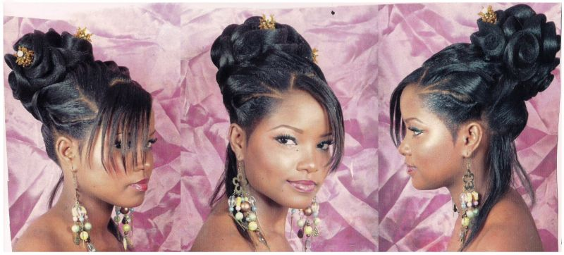 Coiffure Chignon Pour Mariage Africain Ivory Hairstyle