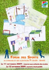 Flyer forum des sports 2009