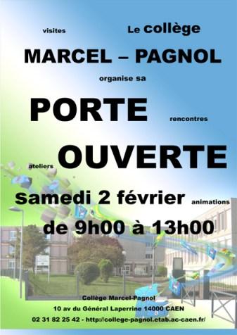 Porte ouverte collège Marcel Pagnol