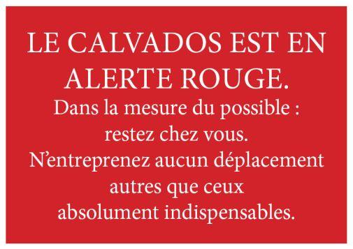 Calvados Alerte Rouge Neige