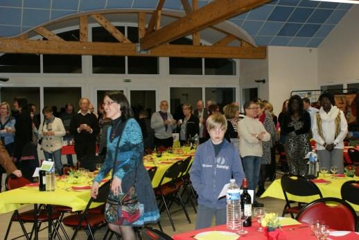Une soixantaine de personnes au repas organisé par le Comité de Jumelage OUONCK/DIEBA