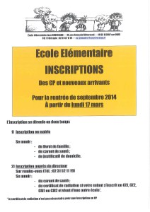 inscriptionsélémentaire2014