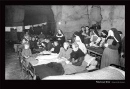 """Fleury-sur-Orne dans l'exposition photographique temporaire intitulée """"Libérés"""", sur les Bas-Normands dans la Libération"""