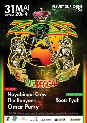 5ème édition du festival L'île en reggae
