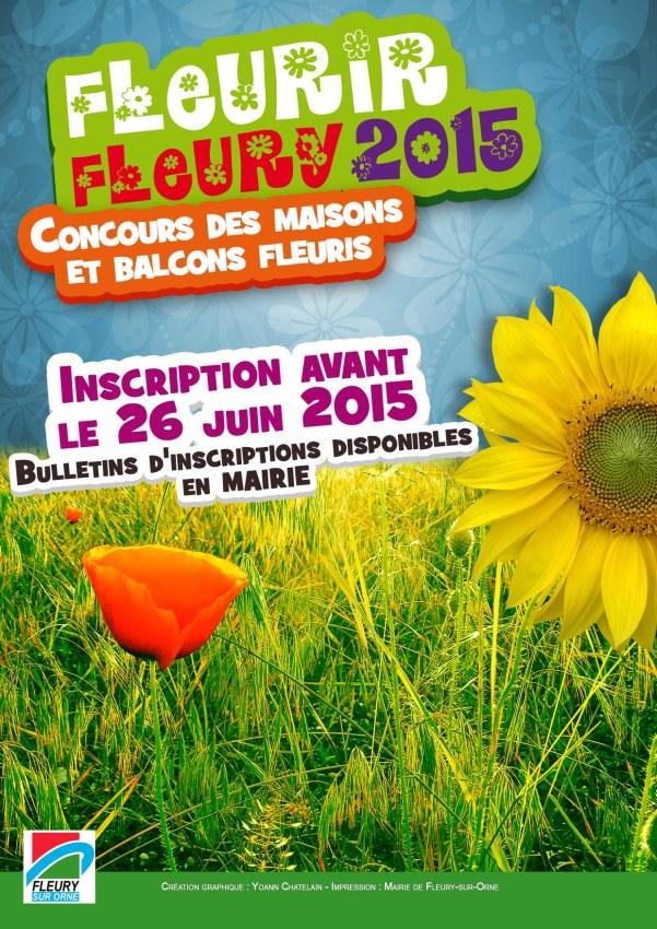 """Concours """"Fleurir Fleury 2015"""""""