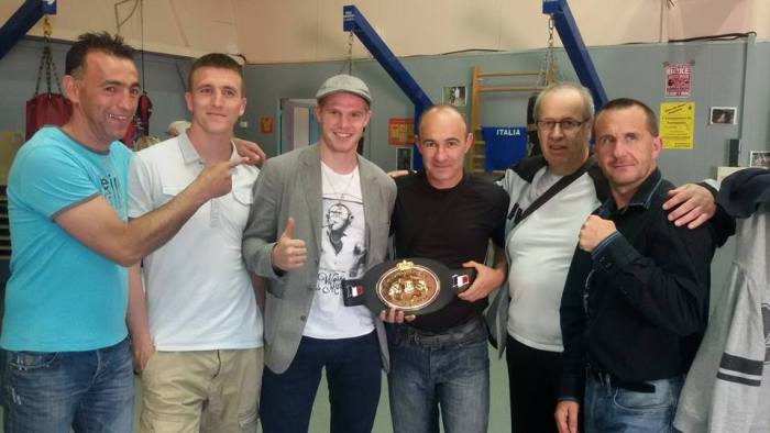 Pot pour clôturer la super saison de la JSF Boxe anglaise