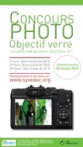 Concours photo SYVEDAC Objectif verre