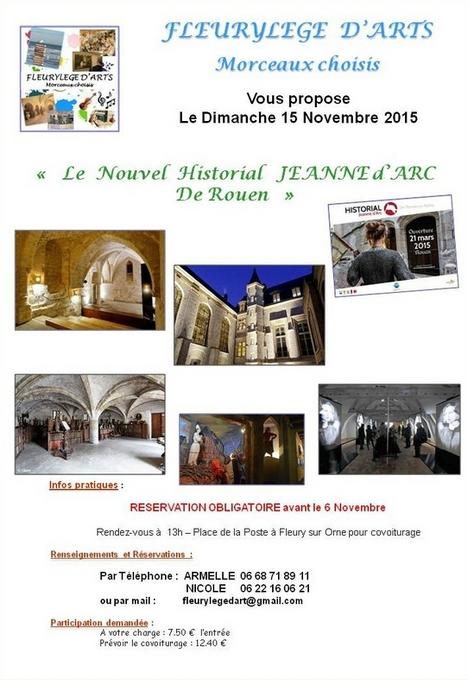 Le Nouvel Historial Jeanne d'Arc de Rouen