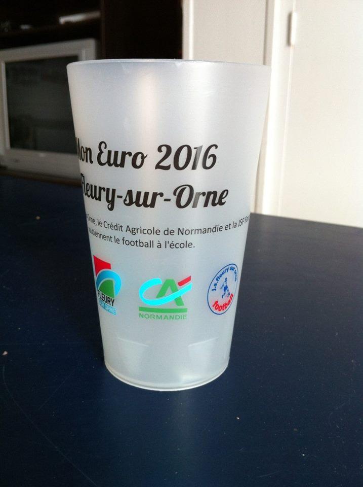 Ecocup Mon Euro 2016 à Fleury