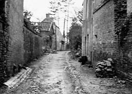 Rue de Fleury en 1944