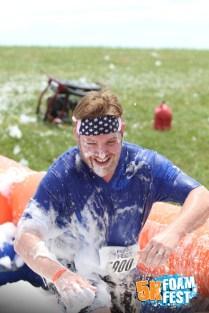 Chris gettin' foamy