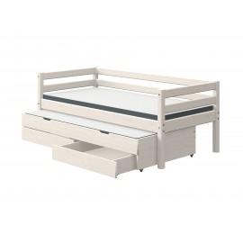 bloc lit gigogne et tiroirs de rangement classic