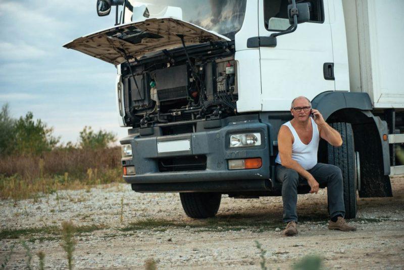 manutenção de caminhões