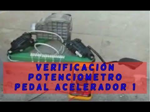 Verificación Del Potenciometro Pedal Acelerador Con Polímetr