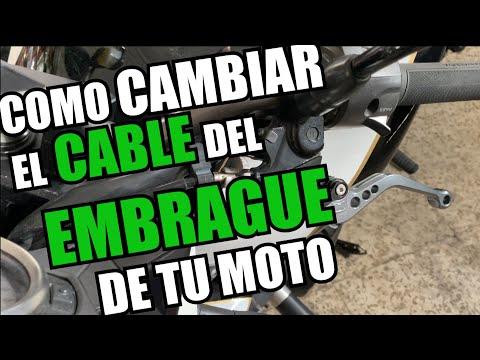 CAMBIAR el CABLE de EMBRAGUE DE MOTO|| KAWASAKI Z750|| elbuhoknauj