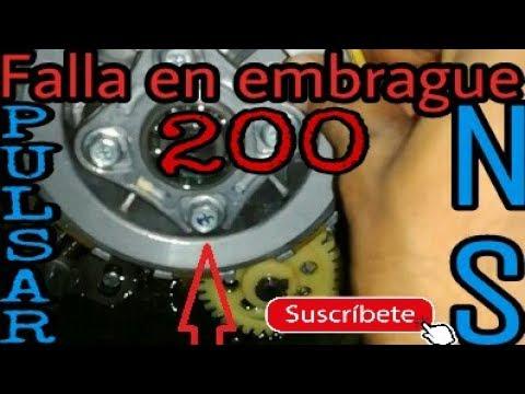Falla en el embrague o clutch NS200 AS 200 / NORMAN