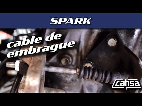 Reemplazar cable de embrague CHEVROLET SPARK 1.2L