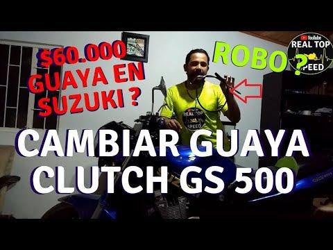 CAMBIAR GUAYA DE CLUTCH GS 500 $60.000 CUESTA? UN ROBO? EMBRAGUE CABLE