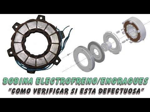Bobina Freno Electrico / Embrague Electrico : Como verificar si esta defectuosa.