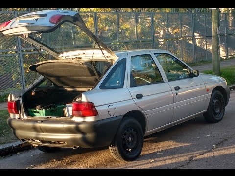 paso de cambios sin embrague, Ford Escort