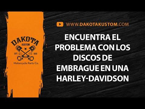 Encuentra el problema con los discos de embrague en una Harley-Davidson – Dakota Kustom