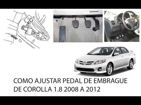 Como Regular Pedal de Embrague | Toyota Corolla