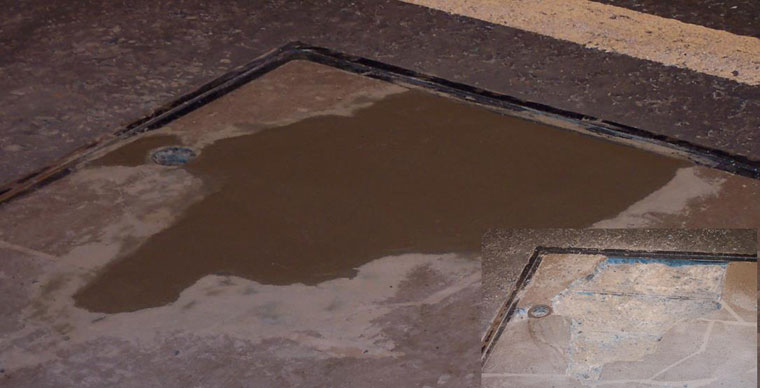 Reinstatement of Concrete for Manhole Cover