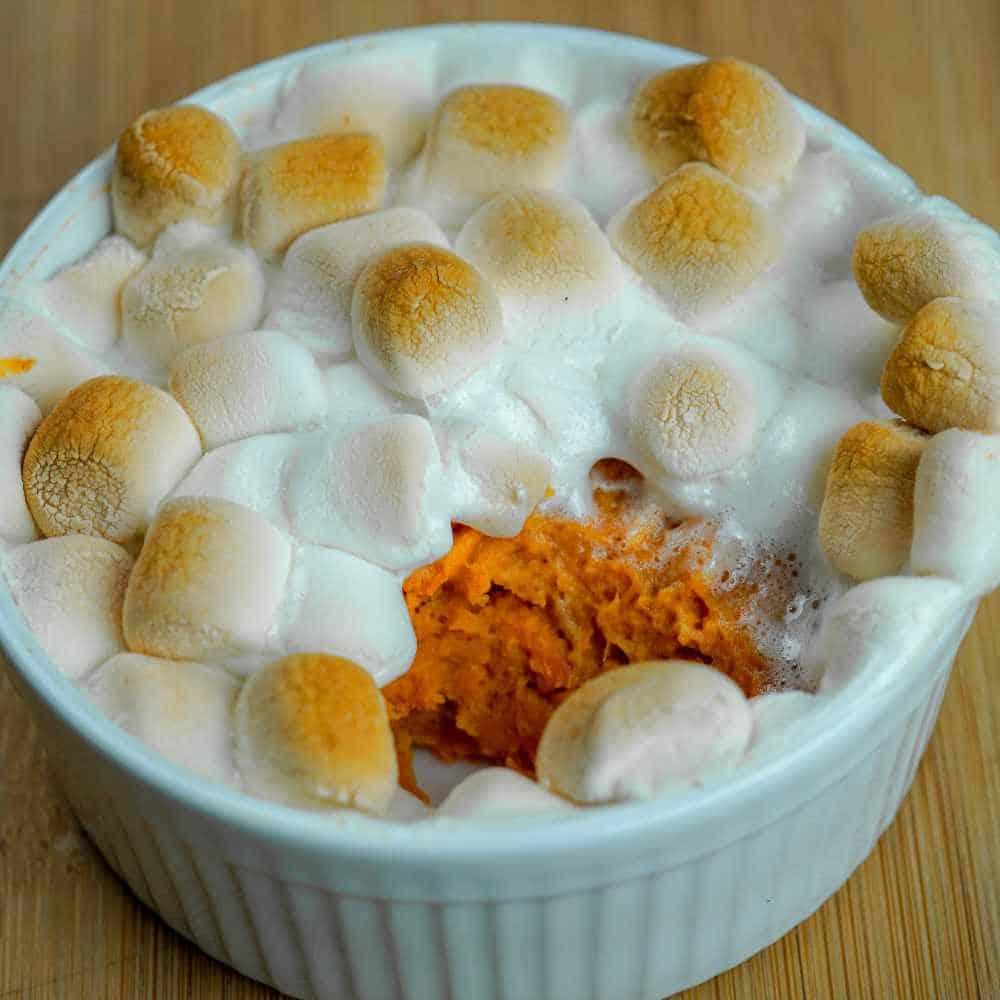 Personal Sweet Potato Casserole
