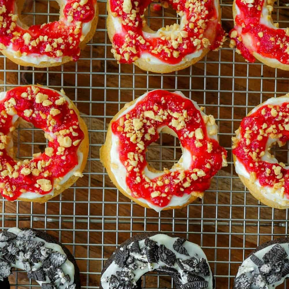 PB and J Donuts