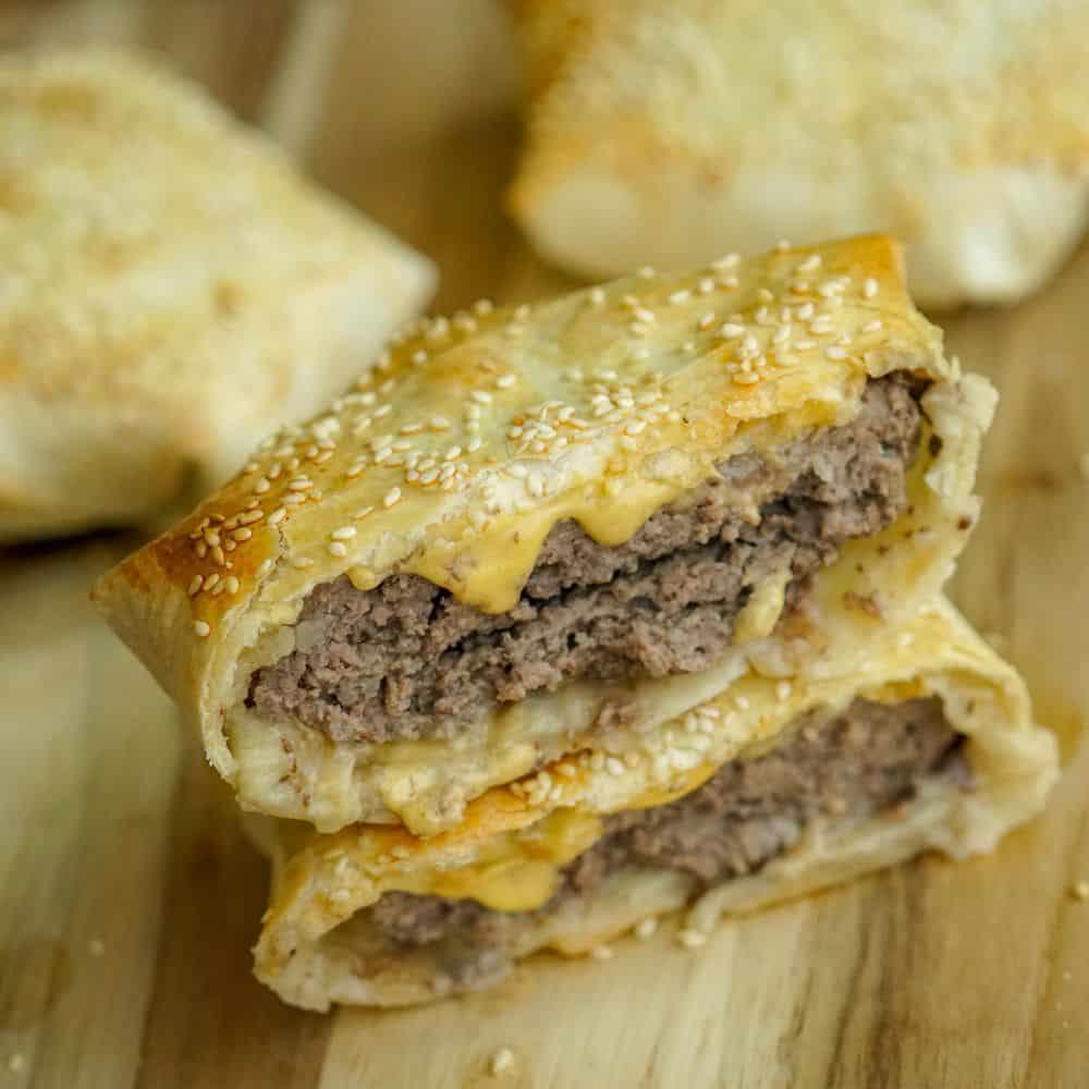 Classic Cheeseburger Crunch Wrap