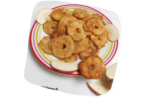 Recette végane de beignets aux pommes