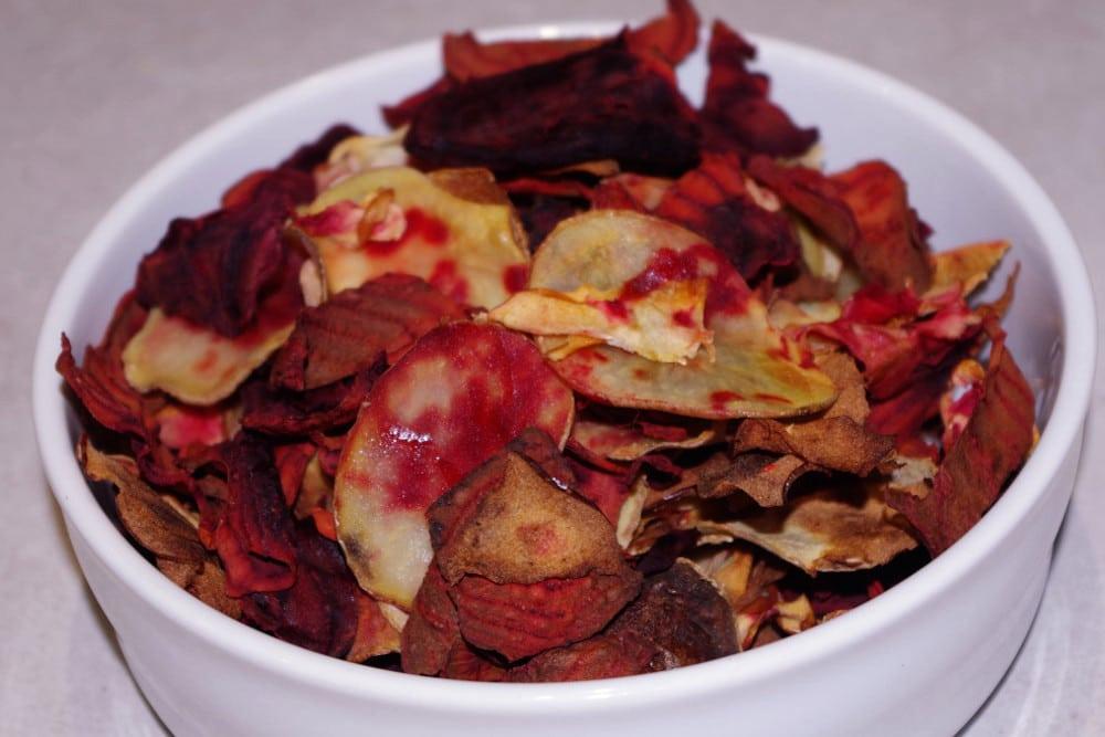 Recette healthy des chips de légumes