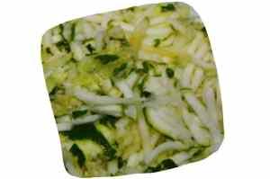 Recette du risotto aux légumes : courgette râpée
