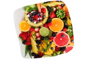 Les fruits sont aussi une source importante de glucides
