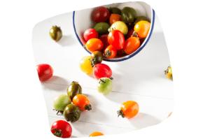 Il existe des tomates de toutes les tailles, de toutes les formes et de toutes les couleurs