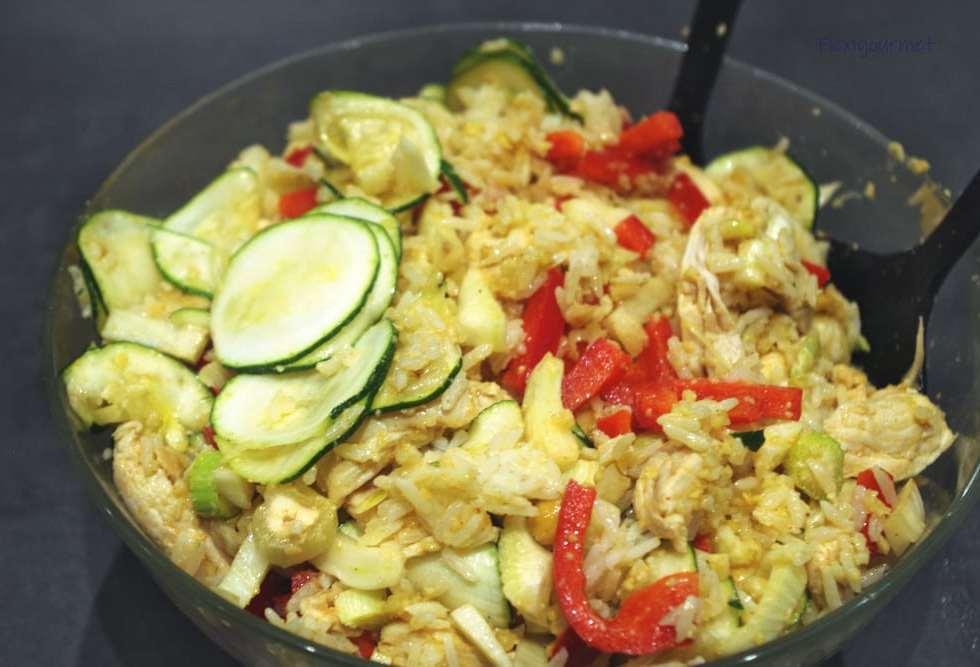 Recette de la salade de fenouil au poulet